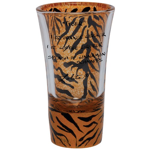 """Lolita"" Tiger Shooter Glass"