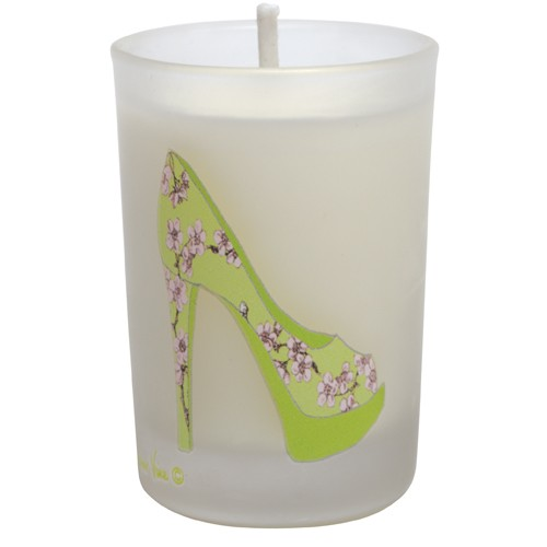"Green Cherry Blossom ""Mini"" Votive"