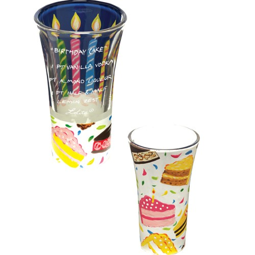 """Lolita"" Birthday Cake Shooter Glass"