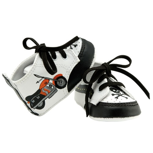 "Lil Tootsies ""Biker Dude"" Baby Shoes"