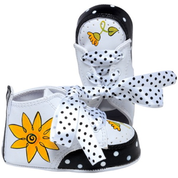 "Lil Tootsies ""Daisy"" Baby Shoes"