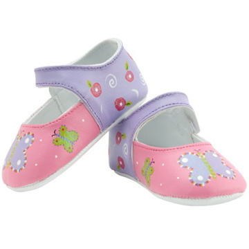 "Baby ""Fancy & Free"" Mary Janes"