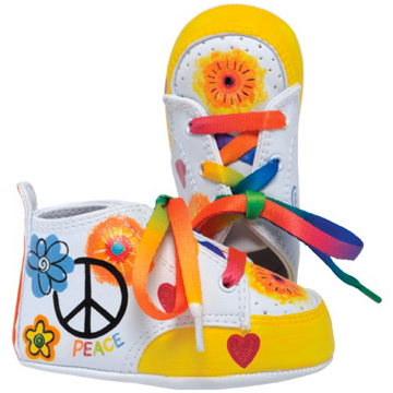 "Lil Tootsies ""Peace"" Baby Shoes"