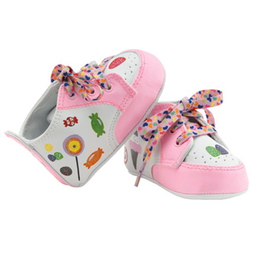 "Lil Tootsies ""Sugar & Spice"" Baby Shoes"